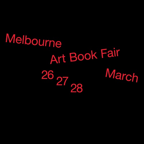 Melbourne Art Book Fair 2021