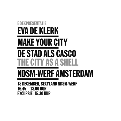 Boekpresentatie | Make Your City