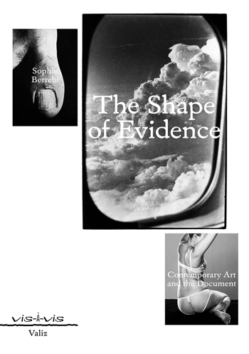 Cover The Shape of Evidence 350px